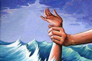 """إنقاذ من الغرق """"هل تساوي حياتك إنقاذها؟  قصة عن الأمل و الأجل"""