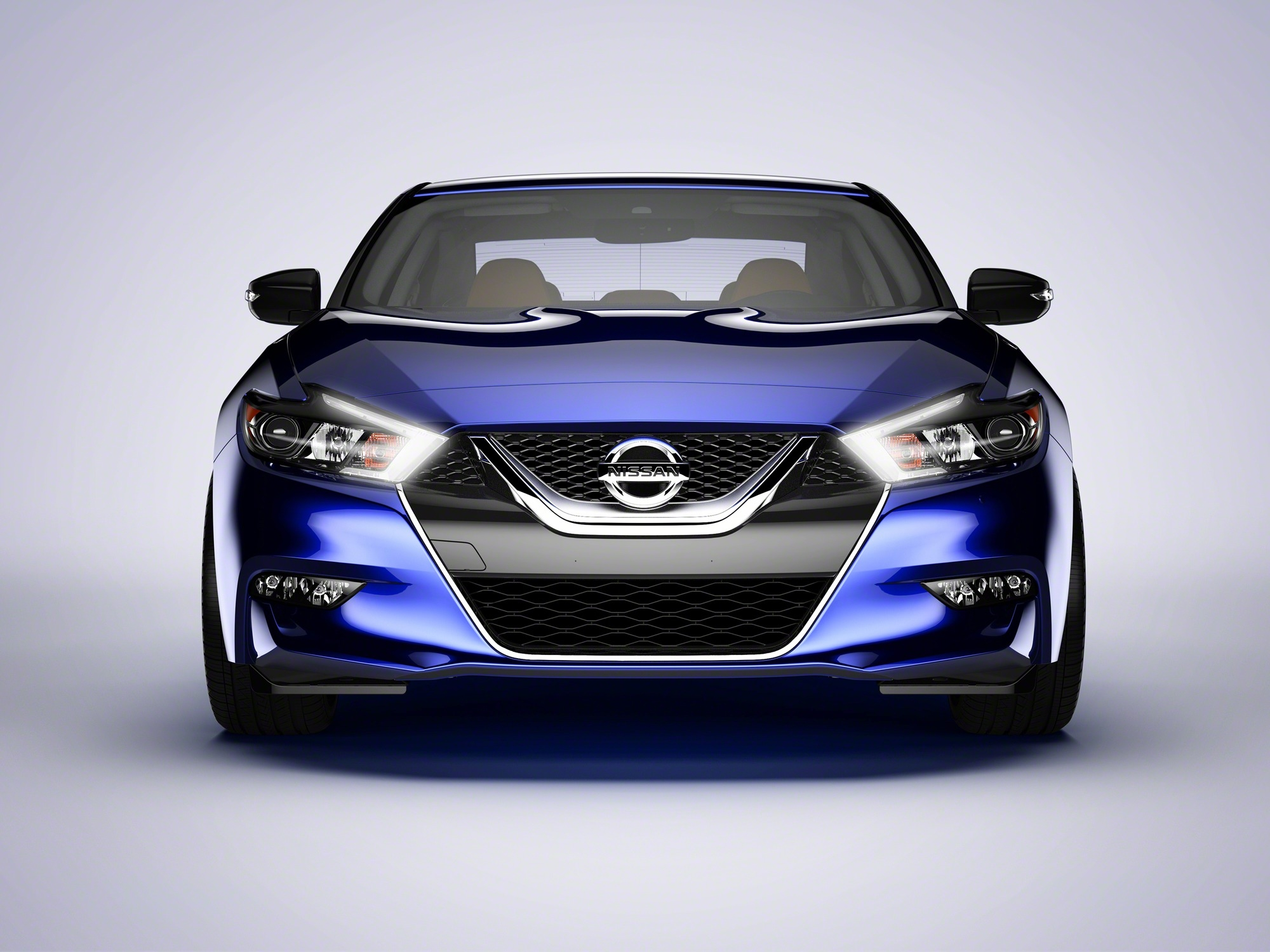 """Created by driving enthusiasts for driving enthusiasts, the dramatically styled 2016 Nissan Maxima looks like nothing else on the road today – and drives like nothing in the segment. The all-new Nissan flagship not only resets Maxima's iconic """"4-Door Sports Car"""" positioning, it sets a new standard for style, performance and technology in the large sedan segment."""