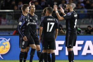 ريال مدريد يلحق بكاشيما إلى نهائي المونديال