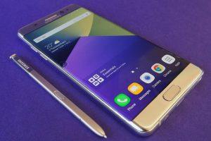 سامسونج هي السبب في إنفجار بطارية هاتف Note 7