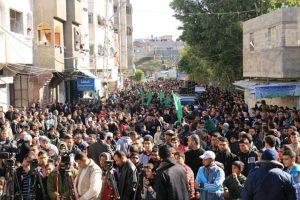 مظاهرات في غزة إحتجاجاَ على تفاقم أزمة الكهرباء