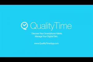 تطبيق QualityTime لمعرفة الوقت الذي تقضيه على الهاتف